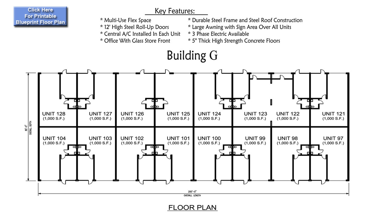 M M Development Building G Floor Plan